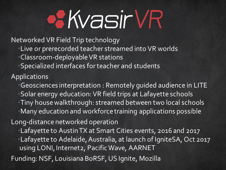 Kvasir Overview Slide
